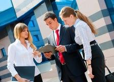 Geschäftsleute Treffen Stockfotos