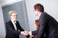 Geschäftsleute Treffen Lizenzfreies Stockbild