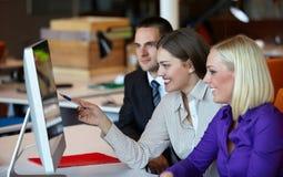 Geschäftsleute Treffen Lizenzfreie Stockfotografie