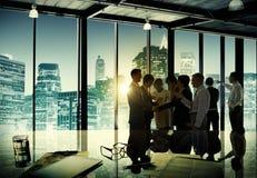 Geschäftsleute Unternehmensdiskussions, dieteam concept treffen Lizenzfreie Stockfotos