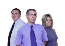 Geschäftsleute - zusammen lizenzfreie stockfotografie