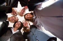 Geschäftslokal-Team-Arbeit Lizenzfreie Stockfotografie