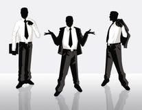 Geschäftsmänner stockbild