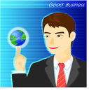 Geschäftsmänner stockfoto