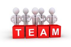 Geschäftsmänner als Team Lizenzfreies Stockfoto