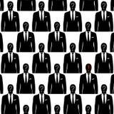 Geschäftsmänner anonym vektor abbildung