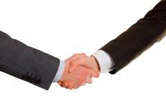 Geschäftsmänner in der Vereinbarung stockbilder