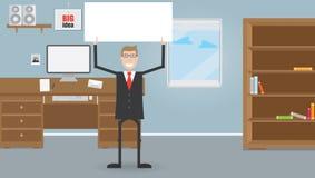 Geschäftsmänner im Büro Lizenzfreie Stockfotografie