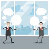 Geschäftsmänner im Büro Stockfotos