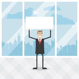 Geschäftsmänner im Büro Lizenzfreie Stockbilder