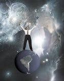 Geschäftsmänner mit Erfolg Lizenzfreie Stockbilder