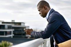 Geschäftsmann Afrika Lizenzfreie Stockfotos