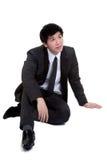 Geschäftsmann attraktive intelligente Seat-Klage Lizenzfreie Stockfotos