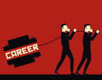 Geschäftsmann Career Stock Abbildung