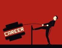 Geschäftsmann Career Vektor Abbildung
