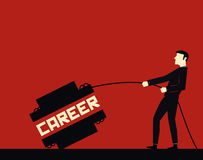 Geschäftsmann Career Stockfoto