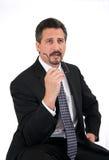 Geschäftsmann-Denken Lizenzfreie Stockfotos