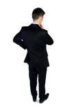 Geschäftsmann denken Lösung Lizenzfreies Stockfoto