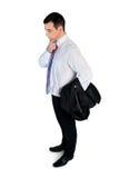 Geschäftsmann denken Lösung Lizenzfreie Stockbilder