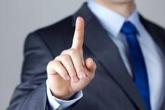 Geschäftsmann, der Wahl trifft Lizenzfreie Stockfotos