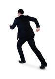 Geschäftsmann, der weg läuft Stockfotos