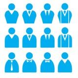 Geschäftsmann Flat Icons Stockbilder