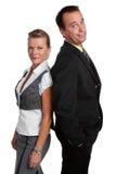 Geschäftsmann-Frau Lizenzfreies Stockfoto