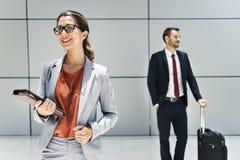 Geschäftsmann-Geschäftsfrau Professional Suit Concept Stockfotografie