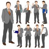 Geschäftsmann-Gruppe stellte 01 ein Lizenzfreie Stockbilder