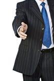 Geschäftsmann-Handerschütterung Stockfotografie