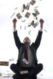 Geschäftsmann-Holdinggeld Stockbilder