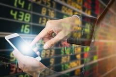 Geschäftsmann-Investition Lizenzfreies Stockfoto