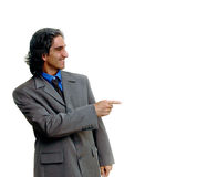 Geschäftsmann isolated-2 lizenzfreie stockbilder