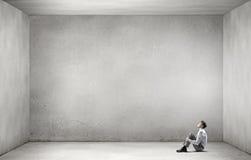 Geschäftsmann isoliert Lizenzfreie Stockfotografie