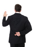 Geschäftsmann-Lügner Stockbilder