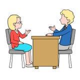 Geschäftsmann Meeting Lizenzfreie Stockbilder