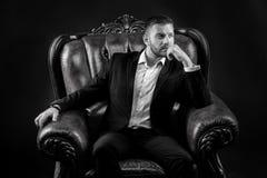 Geschäftsmann oder CEO-Mode Stockbild