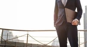 Geschäftsmann-Office Worker Working-Konzept lizenzfreies stockbild
