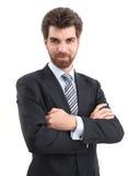 Geschäftsmann-Portrait Stockfotografie