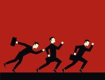 Geschäftsmann Running Stock Abbildung