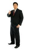 Geschäftsmann sagen gutes. Stockfoto