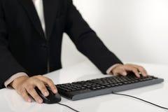 Geschäftsmann-Schreiben Lizenzfreies Stockbild