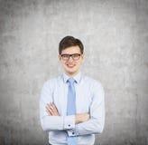 Geschäftsmann Smiling Lizenzfreies Stockfoto