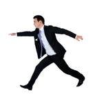 Geschäftsmann springen Lizenzfreies Stockbild