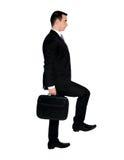 Geschäftsmann steigern Lizenzfreie Stockfotos