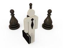 Geschäftsmann Strategy Concept Stockbilder
