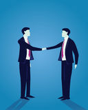 Geschäftsmann Success Agreement Concept Lizenzfreies Stockfoto