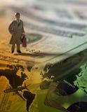 Geschäftsmann Traveler Lizenzfreies Stockfoto