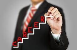 Geschäftsmann und Karriere Stockfotos