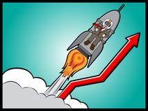 Geschäftsmann und Wachstums-Konzept Stockfotos